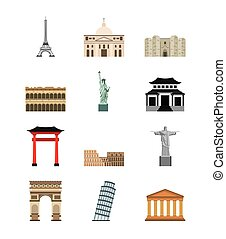 world cities icons