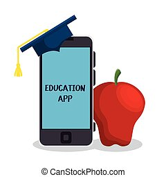 education online elearning icon vector illustration design