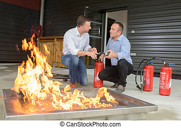 fire and safety training