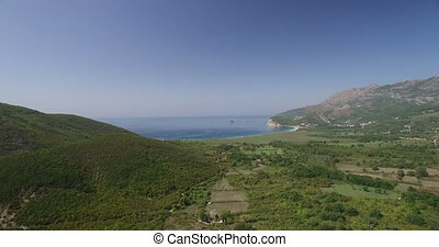 Adriatic Sea coastal landscape. Montenegro - Adriatic Sea...