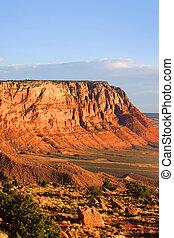 Vermilion Cliffs - Scenic Vermilion cliffs landscape near...