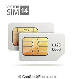 Dual sim cards image