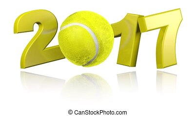 Tennis 2017 with a white background - Turning Tennis 2017...