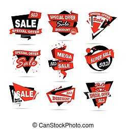 Super Sale poster, banner. Big sale, clearance. - Super Sale...