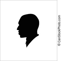 Silhouette of a man