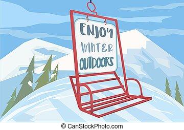Enjoy winter outdoors