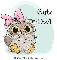 Cute Drawing owl