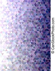 Abstract triangle mosaic transition background - Abstract...