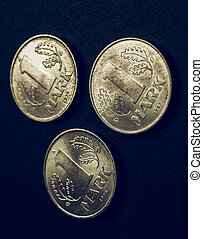 Vintage DDR coin - 1 Mark coin from the DDR (East Germany) -...