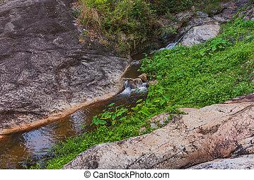 """""""Huay Kaew"""" waterfall from Suthep . - long exposure image of..."""
