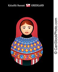 Matryoshka Greenland - Matryoshkas of the World: Greenland...