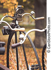 penny-farthing, Vélo