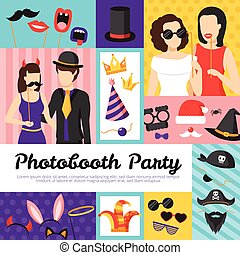 Photo Booth Party Design Concept - Photo booth party design...