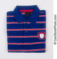 shirt for men's folded on a background. - shirt for men's...