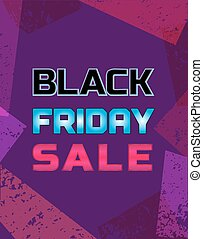 Black Friday Super sale Concept. Big Discount offer...