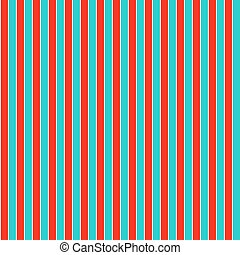 Red and cyan seamless vertical line background