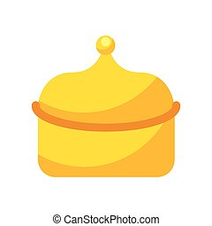 myrrh epiphany gift icon vector illustration design