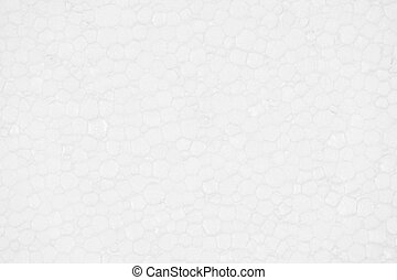 Polystyrene foam texture background