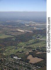 Caledon golf course,  Ontario aerial
