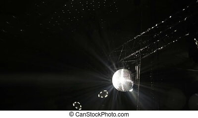 Disco ball on banquet
