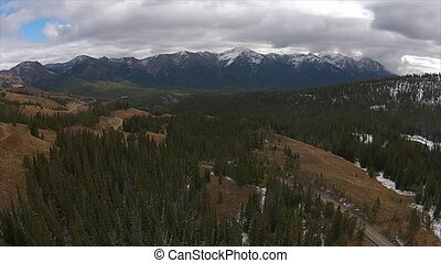 View from Galena Pass Idahoo Sawtooth Mountains - Sawtooth...