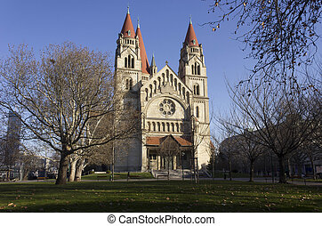 St.Francis of Assisi church in Vienna - St.Francis of Assisi...