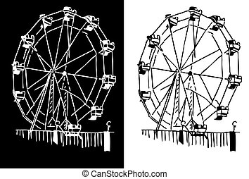Ferris Wheel - An image of a ferris wheel
