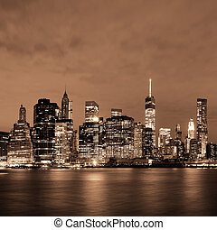 Manhattan, Nacht