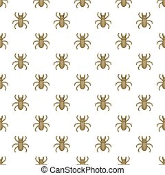 Louse pattern, cartoon style - Louse pattern. Cartoon...
