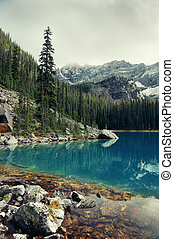 Yoho National Park - Lake O'hara, Yohu National Park,...