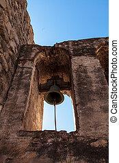 Mission San Juan Capistrano bells - San Juan Capistrano, CA,...
