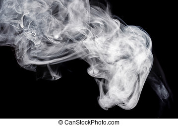Abstract white smoke Weipa - Abstract smoke Weipa. Personal...