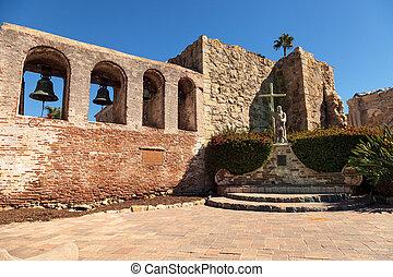 Mission San Juan Capistrano - San Juan Capistrano, CA, USA...