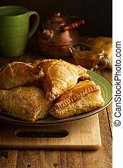 sarriette, fromage, pâtisseries