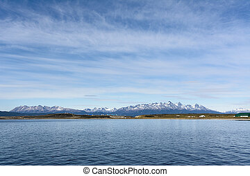Isla gordon viewed from Beagle chanel