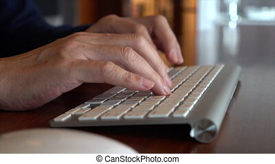 Close Up Of Businessman Typing 01 - This video is about...