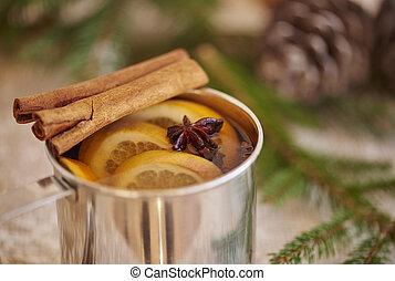 Really nice smell of Christmas drinks