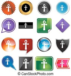 Gold ankh Clipart Vector Graphics. 71 Gold ankh EPS clip art ...