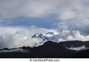 Antisana volcano. National Park Cayambe-Coca Ecuador