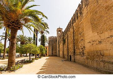 The palace of the Alcazar of the Christian Monarchs, Alcazar...