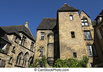 Historic Buildings - Sarlat - France - Some of the many...