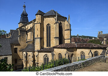 Sarlat Cathedral - Sarlat - France - The Abbey of...