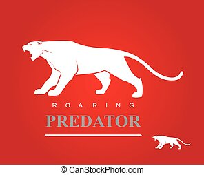 Roaring Predator. Fearless Panther. Fearless Puma