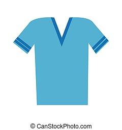 v neck t shirt icon image
