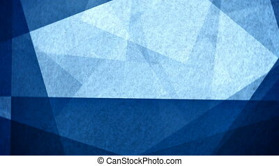 Blue abstract vintage pattern motion background