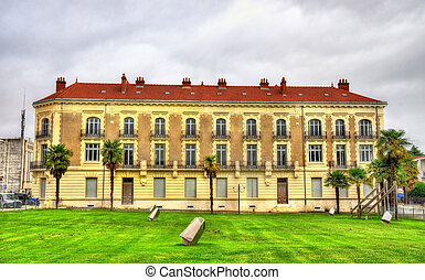 Building in Dax - France - Building in Dax, a town in the...