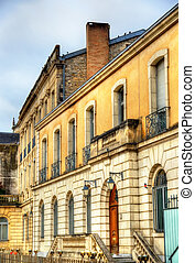 Buildings in Dax town - France - Buildings in Dax, a town in...