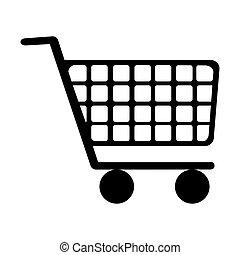 shopping cart icon image
