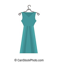 dress and hanger icon image