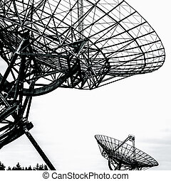 radio telescope in the Netherlands - Synthesis radio...